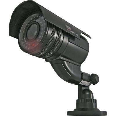 Night Owl Wireless Indoor/Outdoor Decoy Bullet Surveillance Camera with Flashing LED Light - Black