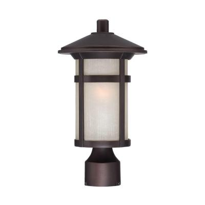 Acclaim Lighting Phoenix Collection 1-Light Outdoor Architectural Bronze Post Lantern