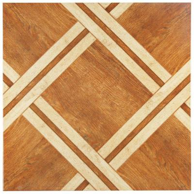 Alaska Caramelo 17-3/4 in. x 17-3/4 in. Ceramic Wall and Floor