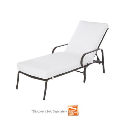 Middletown Patio Chaise Lounge with Cushion Insert (Slipcovers Sold Separately)