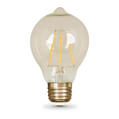 Vintage Style 60W Equivalent Soft White AT19 Dimmable LED Light Bulb