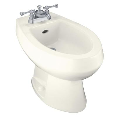 KOHLER Amaretto Bidet with 4 in. Centers in Biscuit-DISCONTINUED