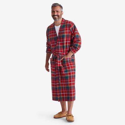 Company Cotton Family Flannel Men's Robe