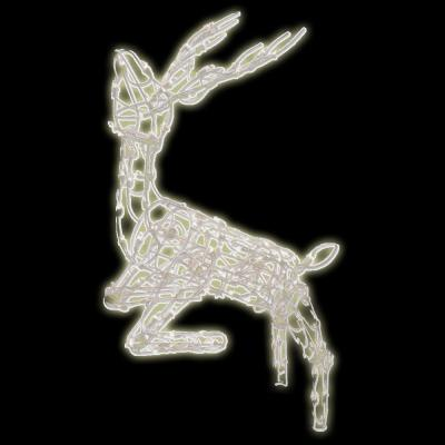 Brite Star 48 in. 105-Light Multi Posing Deer Sculpture