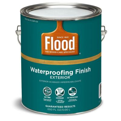 Flood 1 Gal Cedar Translucent Waterproofing Stain Fld130 001 01 The Home Depot