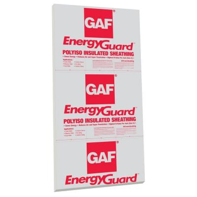 EnergyGuard 1/2 in. x 4 ft. x 8 ft. R-3.6 Polyisocyanurate
