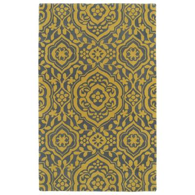 Evolution Yellow 8 ft. x 11 ft. Area Rug
