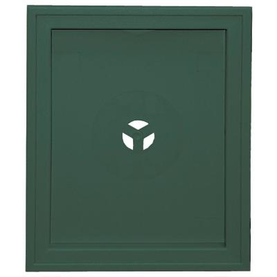 Large Recessed Mounting Block #028-Forest Green