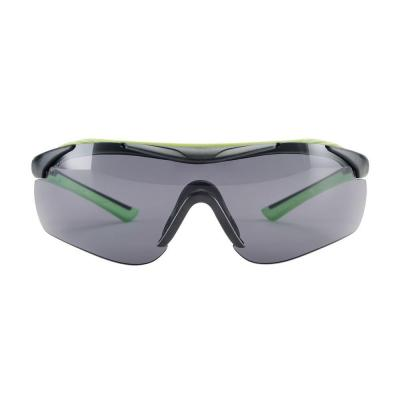 Sports Inspired Design Grey Frame with Tinted Anti-Fog Lenses Performance Safety