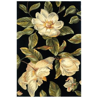 Southern Magnolia Black 3 ft. 3 in. x 5 ft. 3