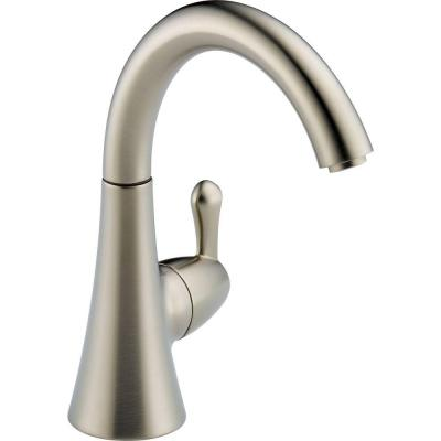 Transitional Single-Handle Water Dispenser Faucet in Stainless