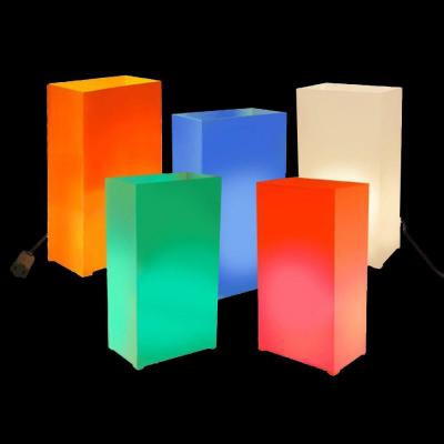 Lumabase Multi-Color Electric Luminaria Kit (Set of 10)