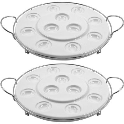 Two Tier Multi Purpose Serving Tray (Set of 2)