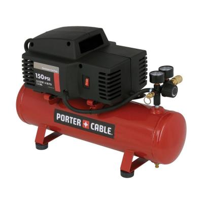Porter-Cable 2.5-Gal. 150 psi Oil-Free Hotdog Compressor-DISCONTINUED