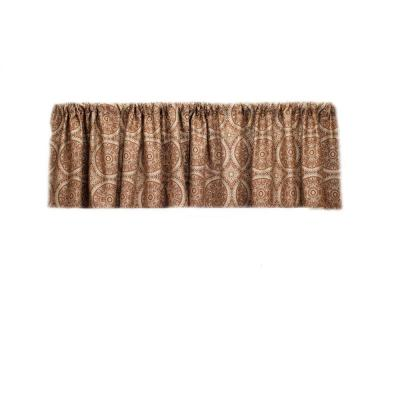 Home Fashions International Cartier DulceDeLeche Valance-DISCONTINUED