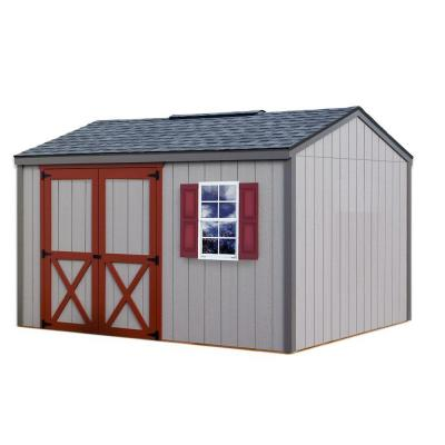 Best Barns Cypress 12 ft. x 10 ft. Wood Storage Shed Kit