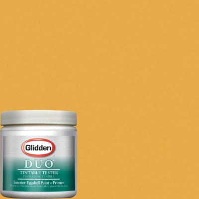 Glidden Team Colors 8-oz. #NFL-179D NFL Pittsburgh Steelers Gold Interior Paint Sample