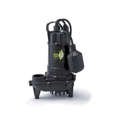 1/3 HP Cast Iron Submersible Sump Pump with Wide Angle Switch Product Photo