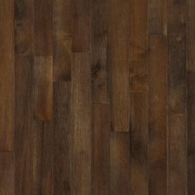 Bruce Maple Cappuccino 3/4 in. Thick x 2-1/4 in. Wide x Random Length Solid Hardwood Flooring (20 sq. ft. / case)