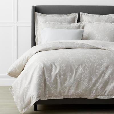 Legends Luxury™ Shadow Vine Cotton Sateen Oversized Duvet Cover