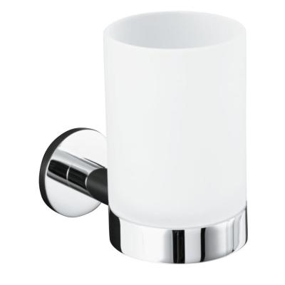 Stillness Tumbler and Holder in Polished Chrome