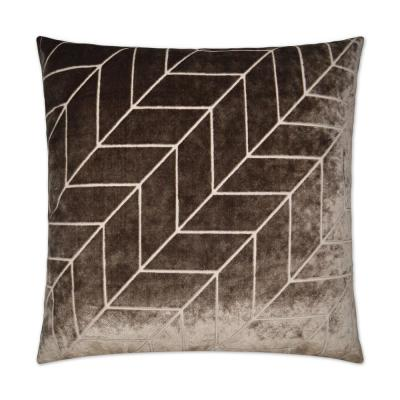 Villa Feather Down 24 in. x 24 in. Decorative Throw Pillow