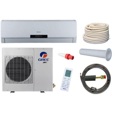 Premium Efficiency 12,000 BTU 1 Ton Ductless Mini Split Air Conditioner with Heat, Inverter and Remote - 208-230V/60Hz Product Photo