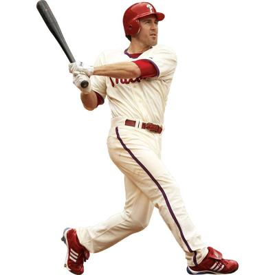 Fathead 55 in. x 75 in. Chase Utley Philadelphia Phillies Wall Decal
