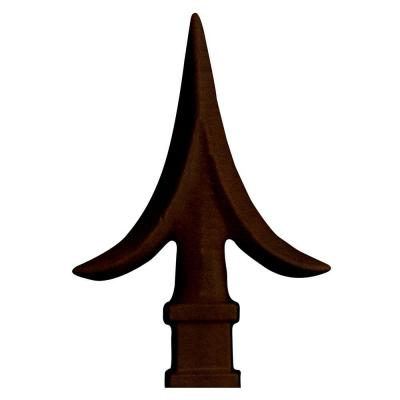 Unique Home Designs Copper Spear Point Finials Set of 4-DISCONTINUED