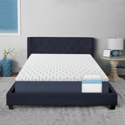 SensorAIR Triple Layer 10 in. Plush Gel Memory Foam Tight Top Mattress