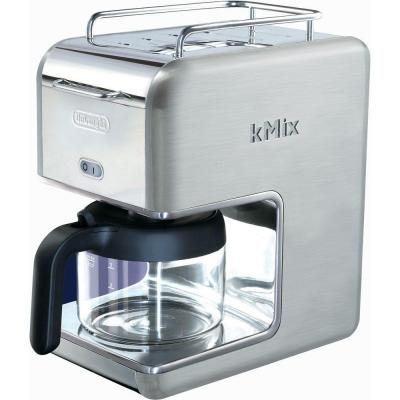 DeLonghi kMix 5-Cup Coffee Maker in Stainless Steel-DISCONTINUED