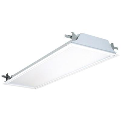 Lithonia Lighting 2-Light White Flanged Fluorescent Troffer