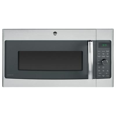 GEProfile 1.7 cu. ft. Over the Range Convection Microwave in Stainless Steel with Sensor Cooking