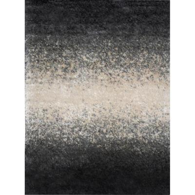 Home Dynamix Sizzle Black/Ivory 7 ft. 10 in. x 10 ft. 2 in. Indoor Area Rug