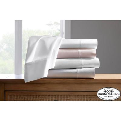 600 Thread Count Supima Cotton Sateen Deep Pocket Sheet Set