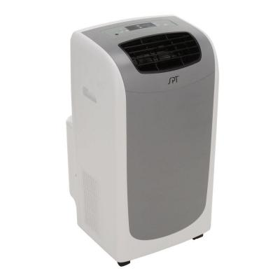 SPT 13,000 BTU Portable Air Conditioner, Dual-Hose System in Grey