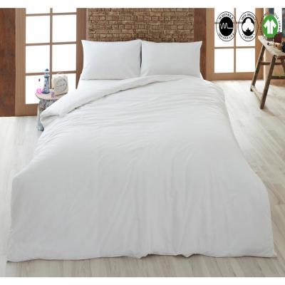 100% Organic Cotton Solid Duvet Set