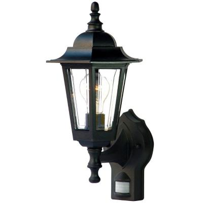 Acclaim Lighting Tidewater Collection Wall-Mount 1-Light Outdoor Matte Black Light Fixture