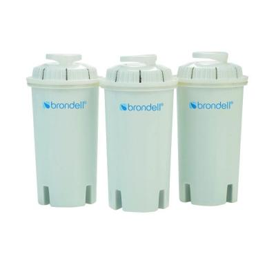 Brondell H2O+ Water Pitcher Filter (3-Pack)