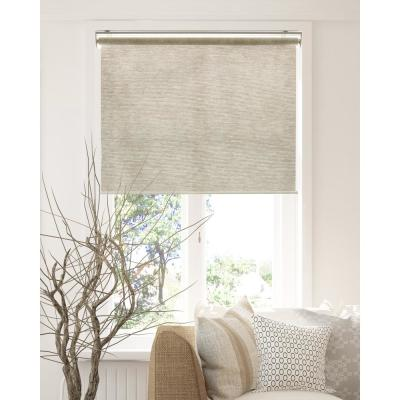 Snap-N'-Glide Cordless Light Filtering UV Protection Polyester Blend Roller Shade