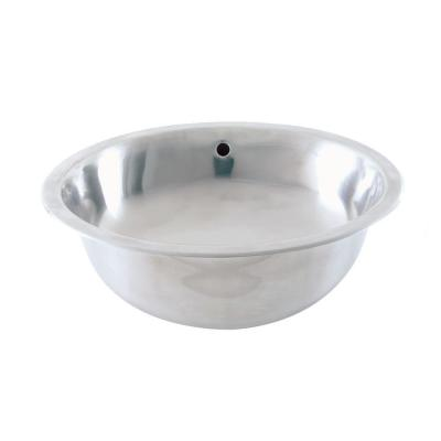 DECOLAV Simply Stainless Drop-In Bathroom Sink in Brushed Stainless Steel