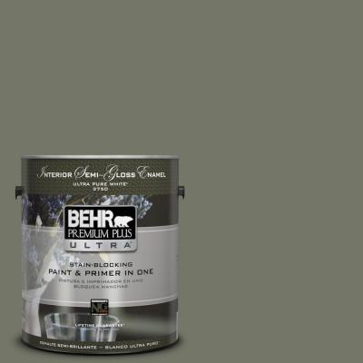 BEHR Premium Plus Ultra Home Decorators Collection 1-gal. #HDC-AC-20 Halls Of Ivy Semi-Gloss Enamel Interior Paint