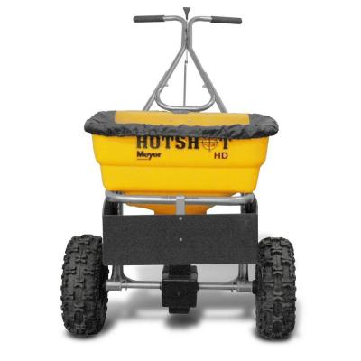 100 lb. Capacity Walk Behind Broadcast Spreader
