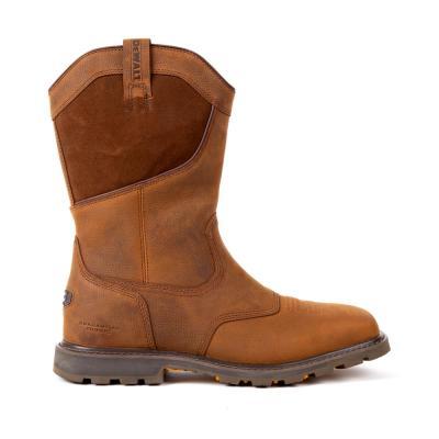Men's Stanton Waterproof Wellington Work Boots - Steel Toe