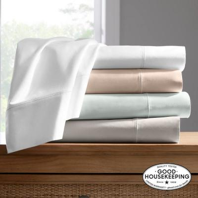 600 Thread Count Supima Cotton Sateen Sheet Set