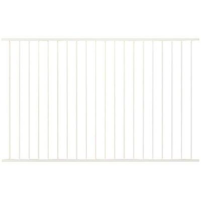 Pro Series 4.84 ft. H x 7.75 ft. W White Steel