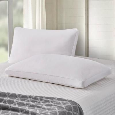 Scott living 330 Thread Count Side Sleeper Goose Feather And Down Fiber Bed Pillow (2 Pack)