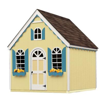 Handy Home Products 8 ft. x 8 ft. Hampton Chalet Playhouse-DISCONTINUED