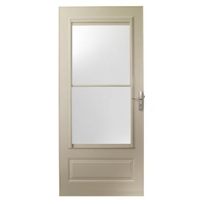 36 in. x 80 in. 400 Series New Sandtone Self-Storing Storm Door Product Photo