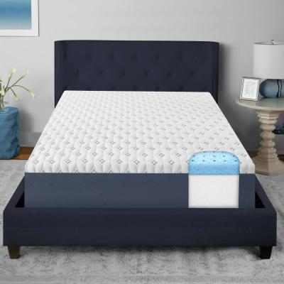 Dual Layer 10 in. Firm Gel Memory Foam Tight Top Mattress